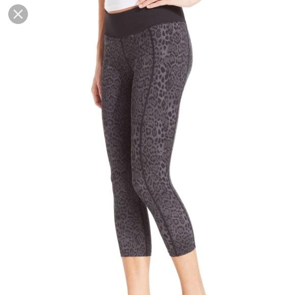 2f1965538f238 Betsey Johnson Pants - Betsey Johnson Leopard Workout Capris